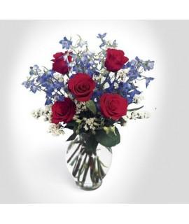 Le bouquet Harmonie de roses